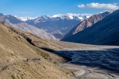 Beautiful view as the route meets the actual Bartang river
