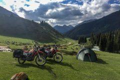 Kyrgyz camping paradise