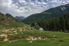 Valley of Flowers Kyrgyzstan