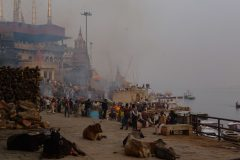 Riverside in Varanasi