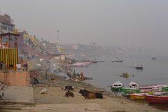 Ganges area in Varanasi