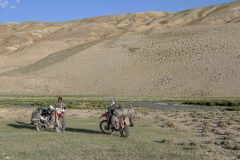 Wakhan valley camping